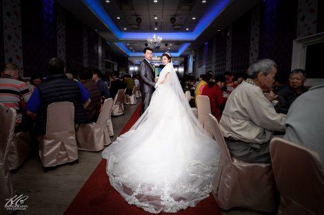 南投婚攝 凱群❤玟圻。婚禮記錄@菜挫婚宴會館